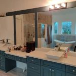 Baytown shower glass installation
