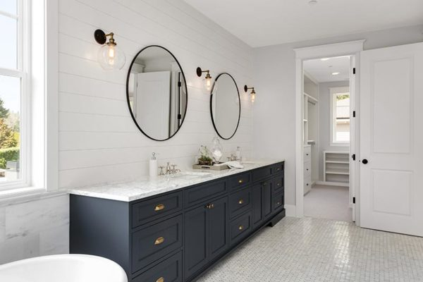 Mirror Installation Bathroom Remodels Baytown Flat Gl Repair